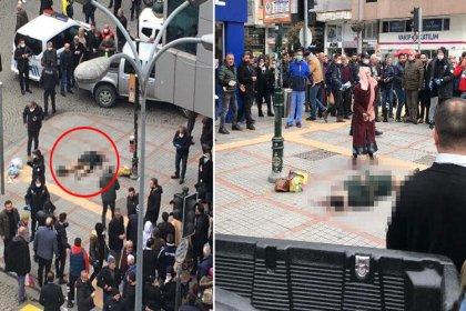 Rize'de bir kadın eski eşi tarafından sokak ortasında başından vuruldu