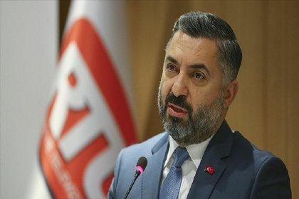RTÜK Başkanı Şahin'den '4 maaş' açıklaması