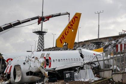 Sabiha Gökçen Havalimanı'nda parçalanan uçakla ilgili yeni gelişme