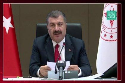 Sağlık Bakanı Dr. Fahrettin Koca bilim kurulu toplantısı sonrası açıklamasında; Maske ve mesafeyi grip aşısından daha çok önemseyelim