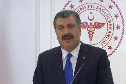 Sağlık Bakanı Koca; Koronavirüs'ten 89 yaşında 1 erkek hastamızı kaybettik, toplamda 98 vakamız var