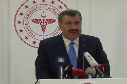 Sağlık Bakanı Koca resmi verilerde; toplamda 4 kaybımız var, 1981 testten 168 pozitif, hasta sayısı 359 oldu