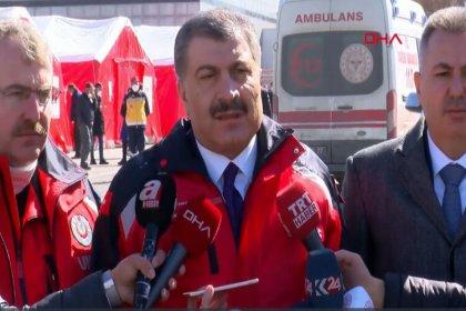 Sağlık Bakanı Koca'dan Gürbulak Sınır Kapısı'nda koronavirüs açıklaması