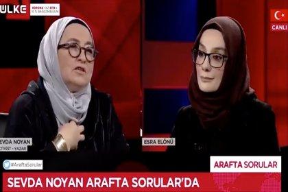 Sevda Noyan canlı yayında; 'doğru anlaşılsın, bizim aile 50 kişiyi götürür' diyerek komşularını tehdit etti