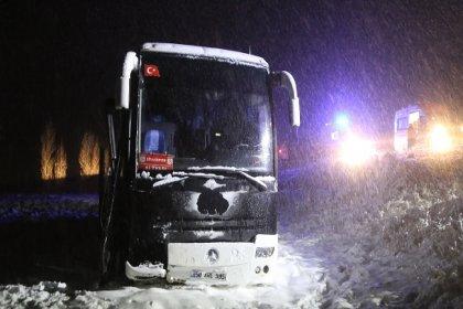 Sivasspor altyapı oyuncularını taşıyan otobüs kaza yaptı: 7 yaralı