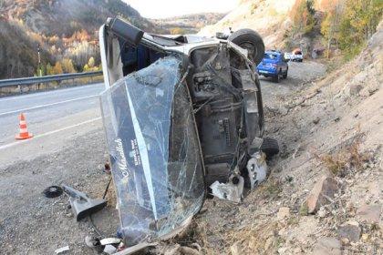 Sivas'ta işçi servisi kaza yaptı: 26 yaralı var
