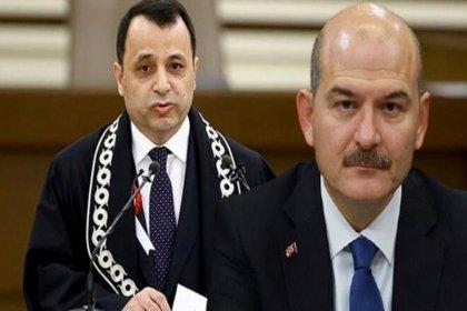 Soylu'dan AYM Başkanı Arslan'a: Aldığı komiser yardımcılarının yüzde 41'ini FETÖ'den ihraç ettim