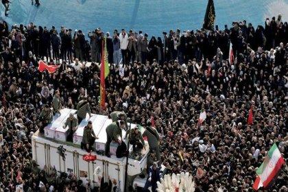 Süleymani'nin cenazesinde izdiham: 40 ölü, 213 yaralı