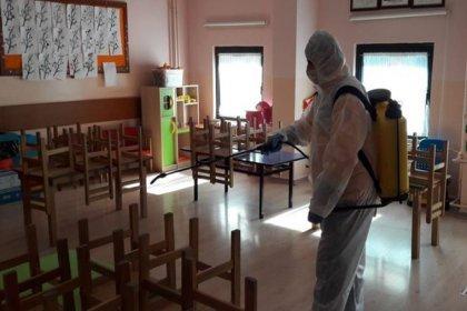 Öğrenciler okuldayken yapılan dezenfekte işlemi nedeniyle 11 öğrenci hastanelik oldu