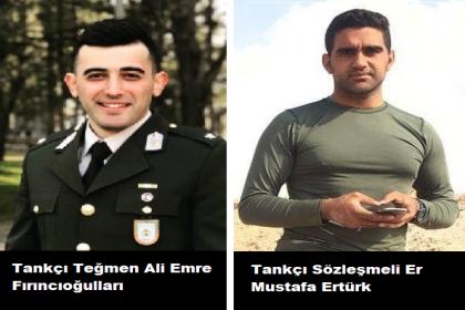 Suriye'nin İdlib şehrinde şehit düşen askerlerimizin kimlikleri açıklandı