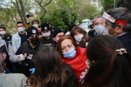 Taksim'e çıkmak isteyen DİSK yöneticilerine gözaltı!
