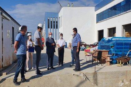 Tekirdağ Büyükşehir Belediye Başkanı Albayrak, Süleymanpaşa Su Ürünleri Hali'nde incelemelerde bulundu