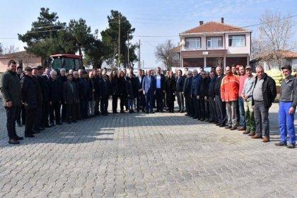 Tekirdağ Büyükşehir Belediyesi'nden hayvan yetiştiricilerine destek