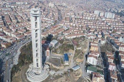 Temeli 17 yıl önce Erdoğan tarafından atılan kule hala tamamlanamadı, harcanan para 77 milyonu buldu