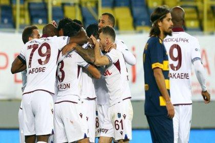 Trabzonspor, Ankaragücü'nü 1-0 mağlup etti