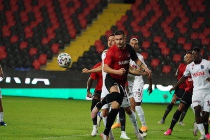 Trabzonspor, Gaziantepspor'la 1-1 berabere kaldı
