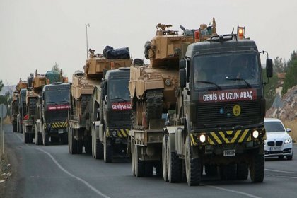 TSK'dan Suriye sınıra askeri sevkiyat