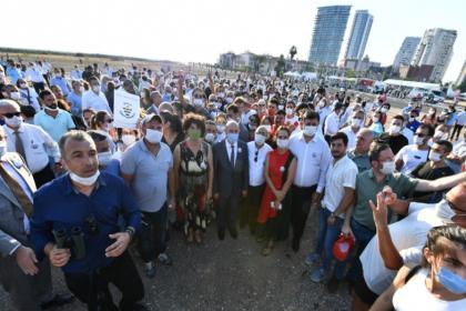 Tunç Soyer'den TOKİ tarafından satılan alanla ilgili açıklama: İzmir halkıyla birlikte ranta karşı mücadele edeceğiz
