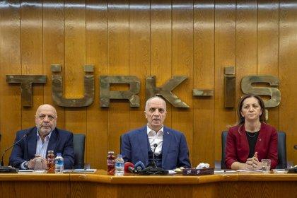 Türk-İş, DİSK ve Hak-İş'ten ortak asgari ücret açıklaması
