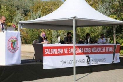 Türk Tabipleri Birliği'nin 72. Seçimli Büyük Kongresi sonuçlandı; Salgınlara ve Savaşa Karşı Mücadeleye Devam!