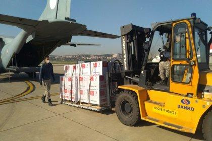 Türkiye, iki ülkeye daha tıbbi yardım malzemeleri gönderdi