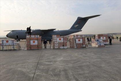 Türkiye, İtalya ve İspanya'ya tıbbi yardım malzemesi gönderdi