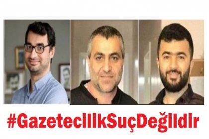 Tutuklu Gazeteciler Barış Terkoğlu, Ferhat Çelik, Aydın Keser serbest bırakıldı