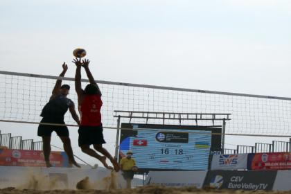 U-18 Avrupa Plaj Voleybol Şampiyonası'nda finalistler belli oldu