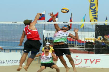 U-22 Avrupa Plaj Voleybol Şampiyonası başladı
