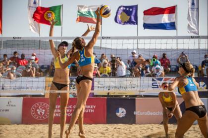 U-22 Avrupa Plaj Voleybol Şampiyonası başlıyor
