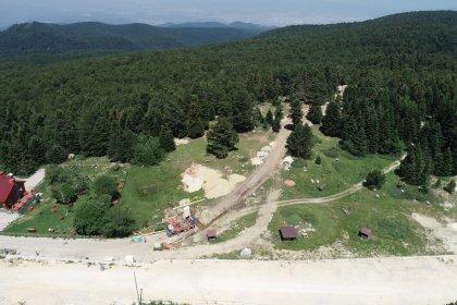 Uludağ'da altyapı çalışması için 1500 ağaç kesildi