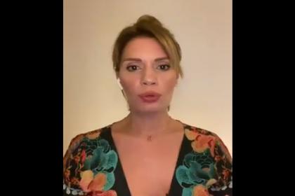 Oyuncu Ayça Varlıer'den Türk Marşı'na koronavirüs uyarlaması
