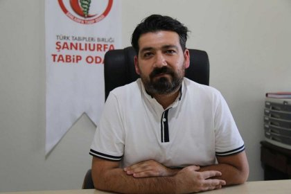 Urfa Tabip Odası Başkanı: Günlük vaka sayısı 300-350 civarı, hastanelerde yer yok