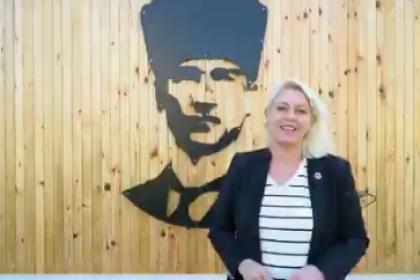Trakya'nı tek kadın belediye başkanı, Uzunköprü Belediye Başkanı Özlem Becan, Oğuz Arda Sel Spor Tesisinin açılışında başlama vuruşu yaptı
