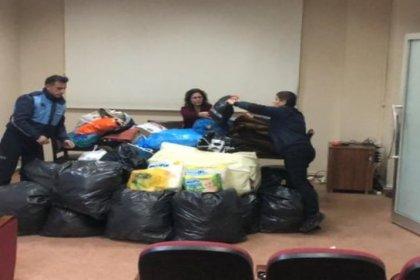 Uzunköprü Belediyesi'nden depremzedelere destek