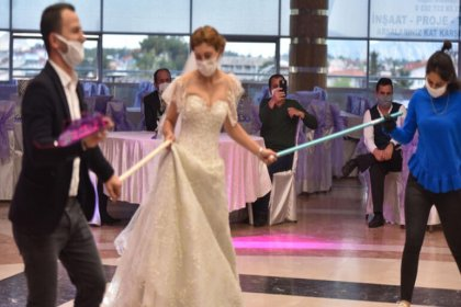 Vaka sayılarının arttığı Gaziantep'te düğünlerde polisler görev yapacak