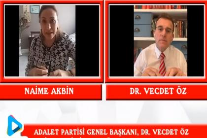 Vecdet Öz'den AKP'ye: Gülen terör örgütüydü, biz işbirliği yapmadık, ülkemizi satmadık. Onlar yaptılar