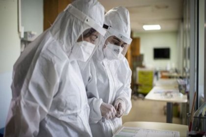 Yandaş sendikanın yaptığı araştırmaya göre sağlık çalışanlarının yüzde 93,8'i yorgun