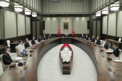 Yüksek Askeri Şura, Erdoğan başkanlığında toplandı