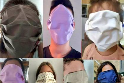 Yunanistan'da okullara dağıtılan maskelerin boyutları yanlış hesaplandı: Yüzün tamamını kapatıyor