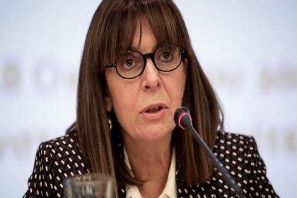 Yunanistan'ın ilk kadın cumhurbaşkanı seçildi