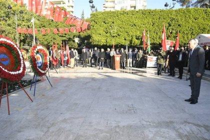 Zeydan Karalar, Adana'nın kurtuluş günü törenlerine katıldı