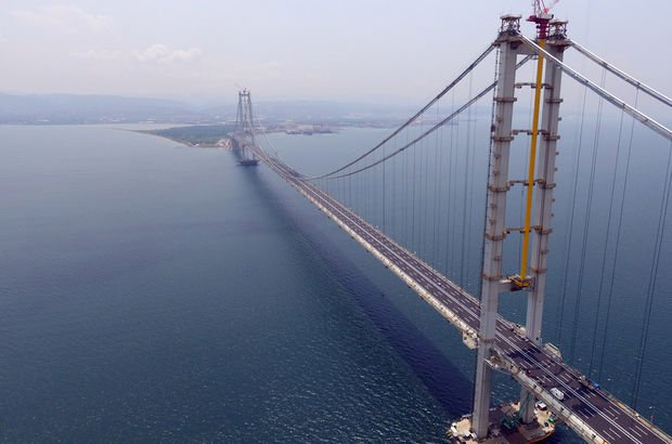 1.8 milyar Euro'luk köprüye 2.8 milyarlık garanti