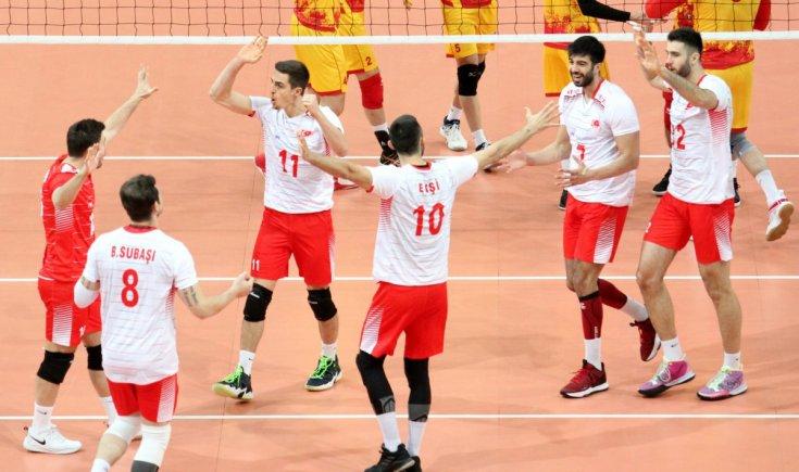 A Milli Erkek Voleybol Takımı, Avrupa Şampiyonası finallerinde