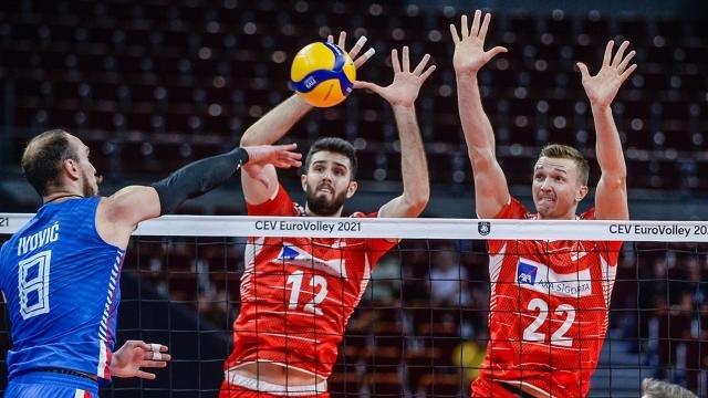 A Milli Erkek Voleybol Takımı, Avrupa Şampiyonası'na veda etti