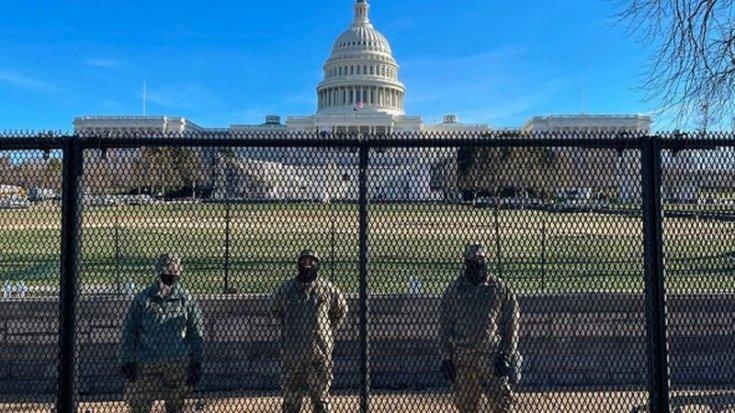 ABD'nin başkenti Washington DC'de 24 Ocak'a kadar 'acil durum' ilan edildi