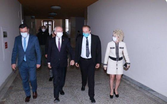 Avcılar Belediye Başkanı Turan Hançerli'den CHP lideri Kılıçdaroğlu'na ziyaret