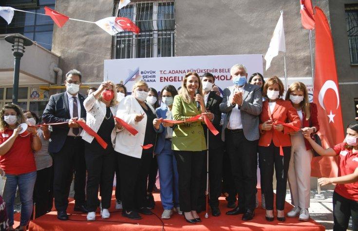 Adana Büyükşehir Belediyesi 'Engelli Çocuk Mola Evi' açıldı