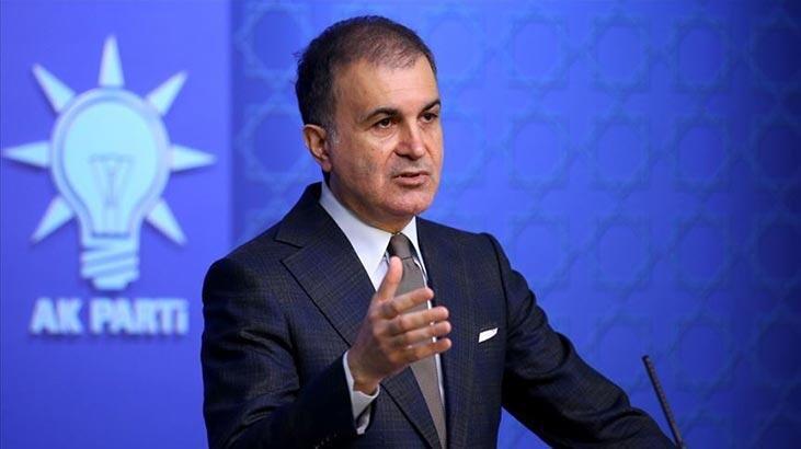 AKP Sözcüsü Çelik: İçişleri Bakanımızı, kabinemizi ve partimizi bir suç örgütü üyesinin laflarıyla hedef alanları şiddetle  kınıyoruz