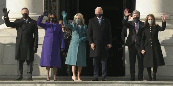 Amerika'da yeni bir gün; Joe Biden yemin etmek için Kongre Binası'na geldi